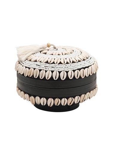Warm Design Kapaklı El Yapımı Mücevher & Saklama Kutusu Renkli